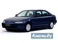 Детали кузова,оптика,радиаторы,HONDA CIVIC,1992 - 1995